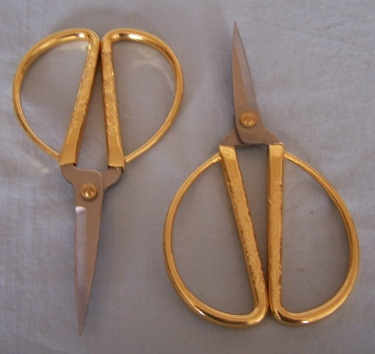 "Scissors, 6"" Gold Handles"