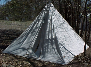 Hunter Tent (Pyramid) & Tents : Wooden Hawk Trading Co. rendezvous mountain man reenactment