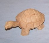 Wooden Turtle Rattle