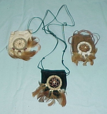 Dream Catcher Neck Bags