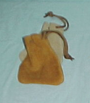Leather Marble or Nugget Bag