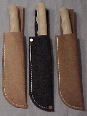 Wooden Knife with Sheath - Click Image to Close
